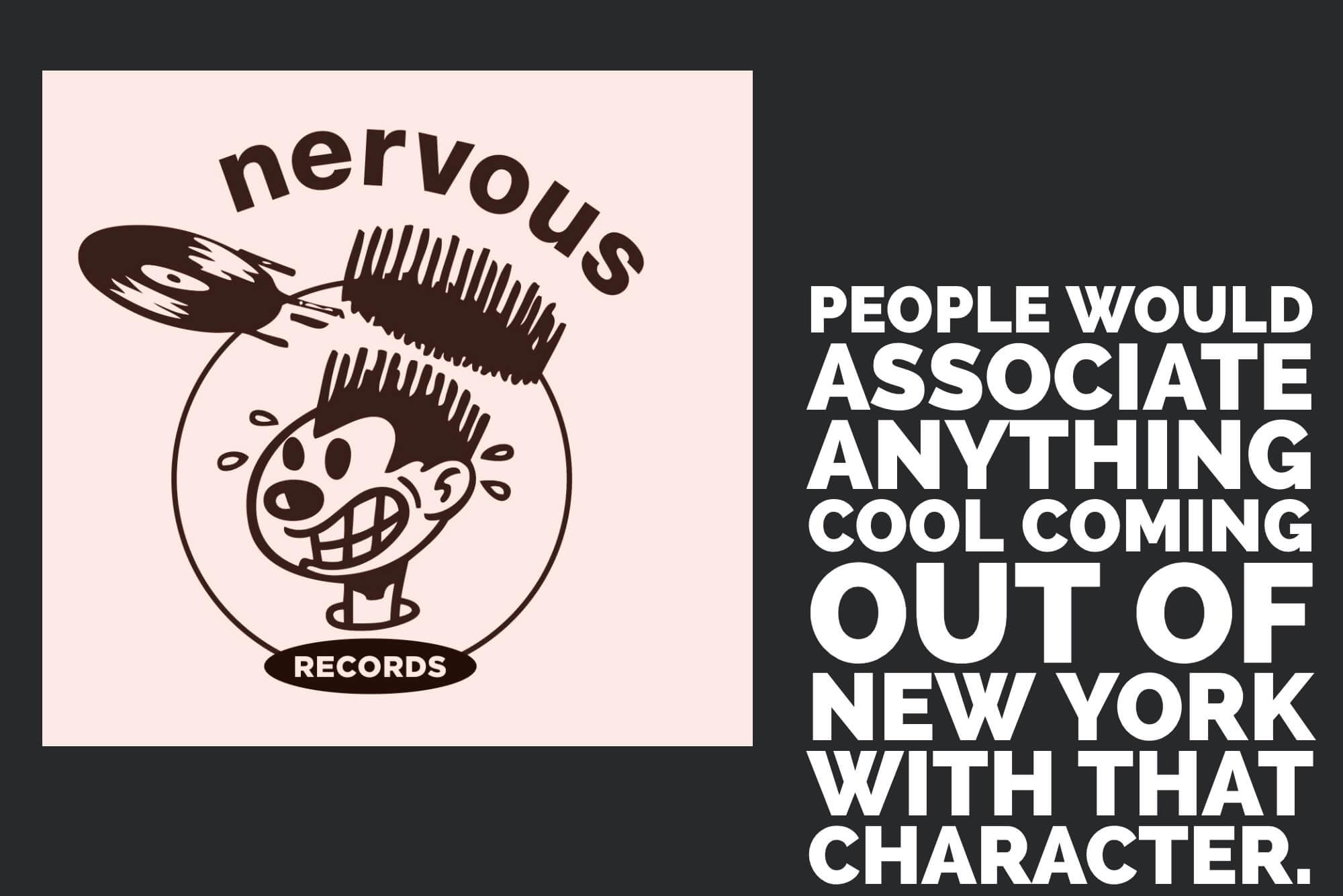 Nervous Records Logo