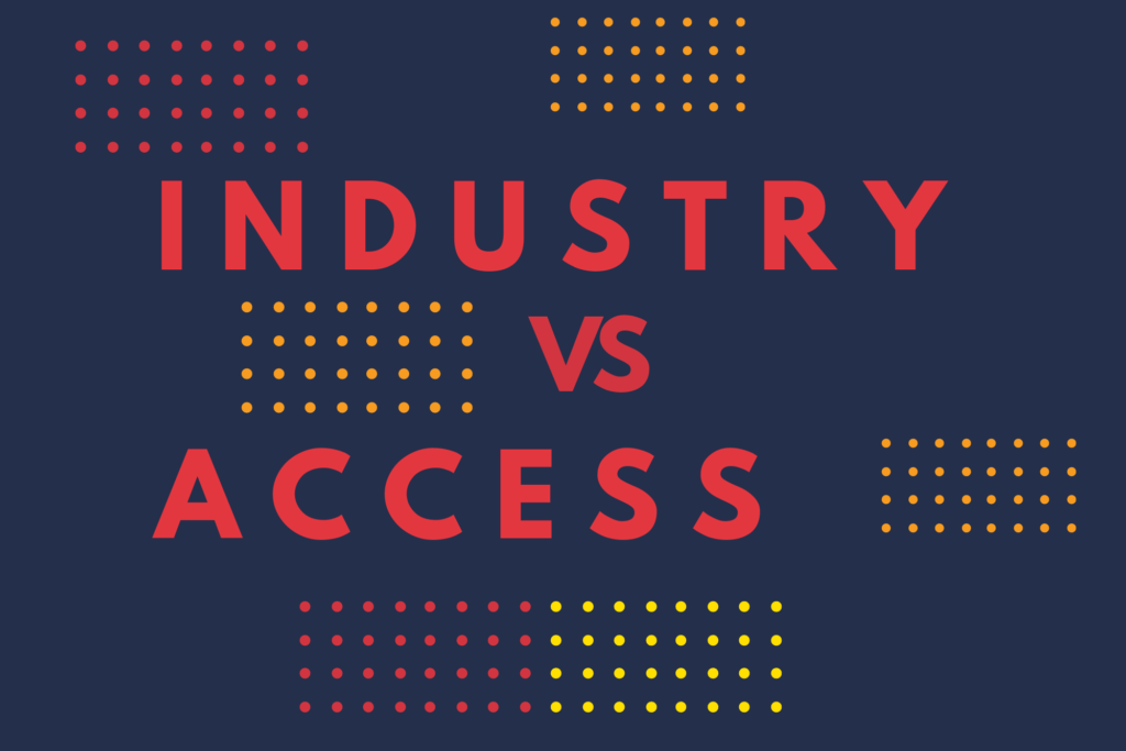 Industry vs. Access: The Programming Fundamentals at WMC 2019