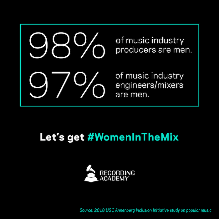 Grammys Producer and Engineer Inclusion Initiative