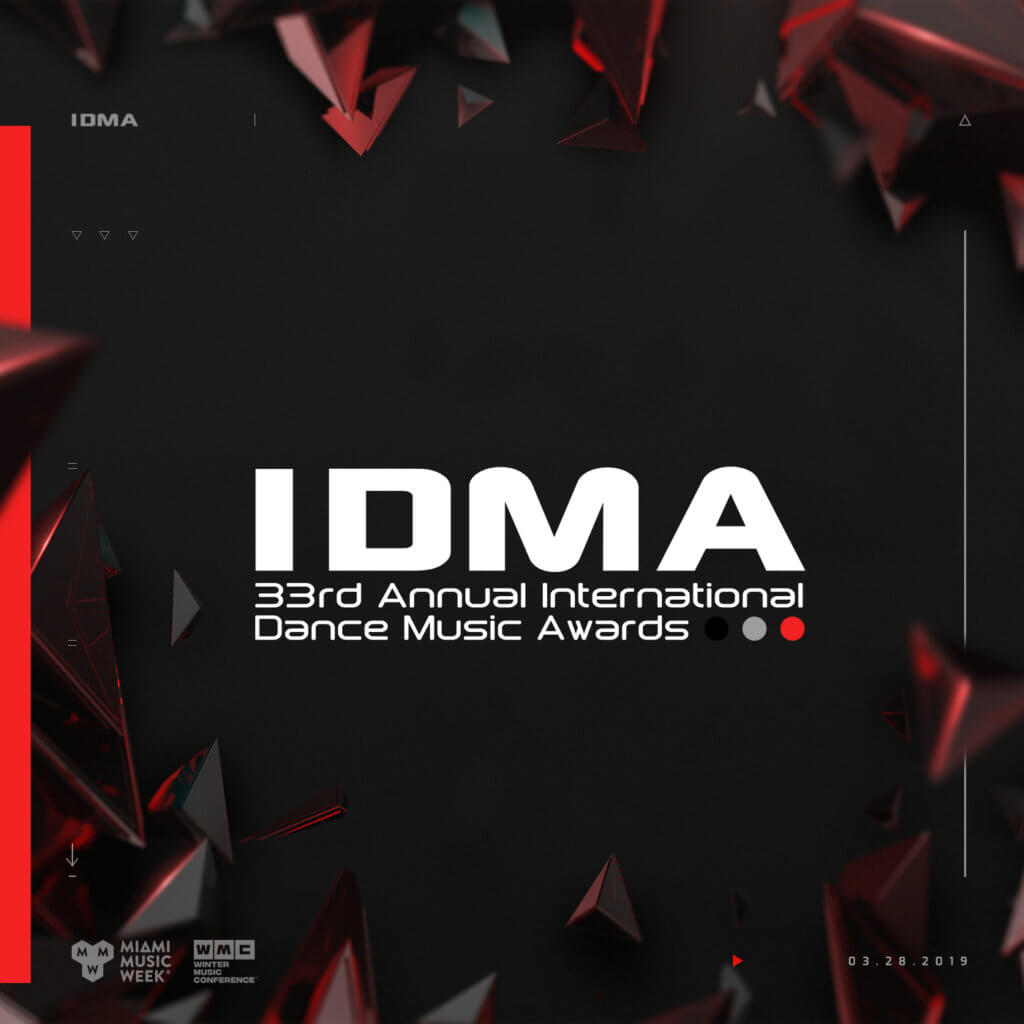 WMC 2019 IDMA International Dance Music Awards Logo