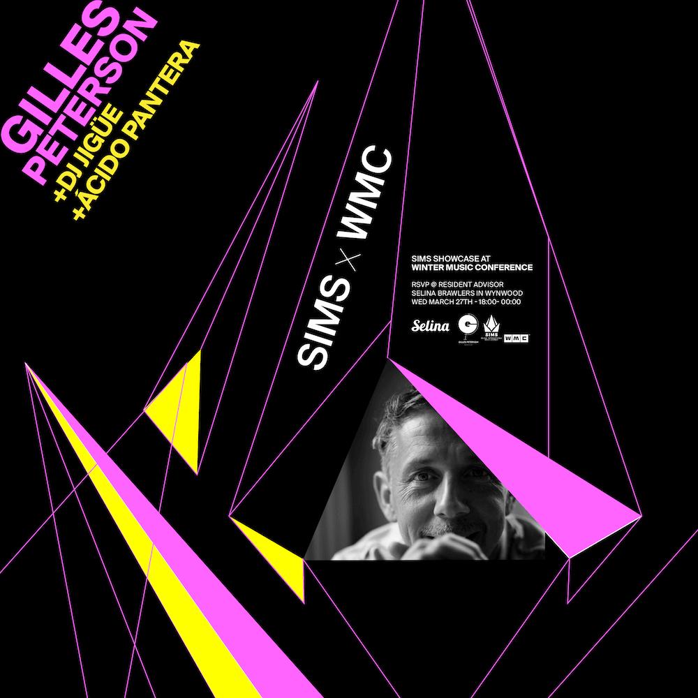 Gilles Peterson SIMS Selina International Music Summit
