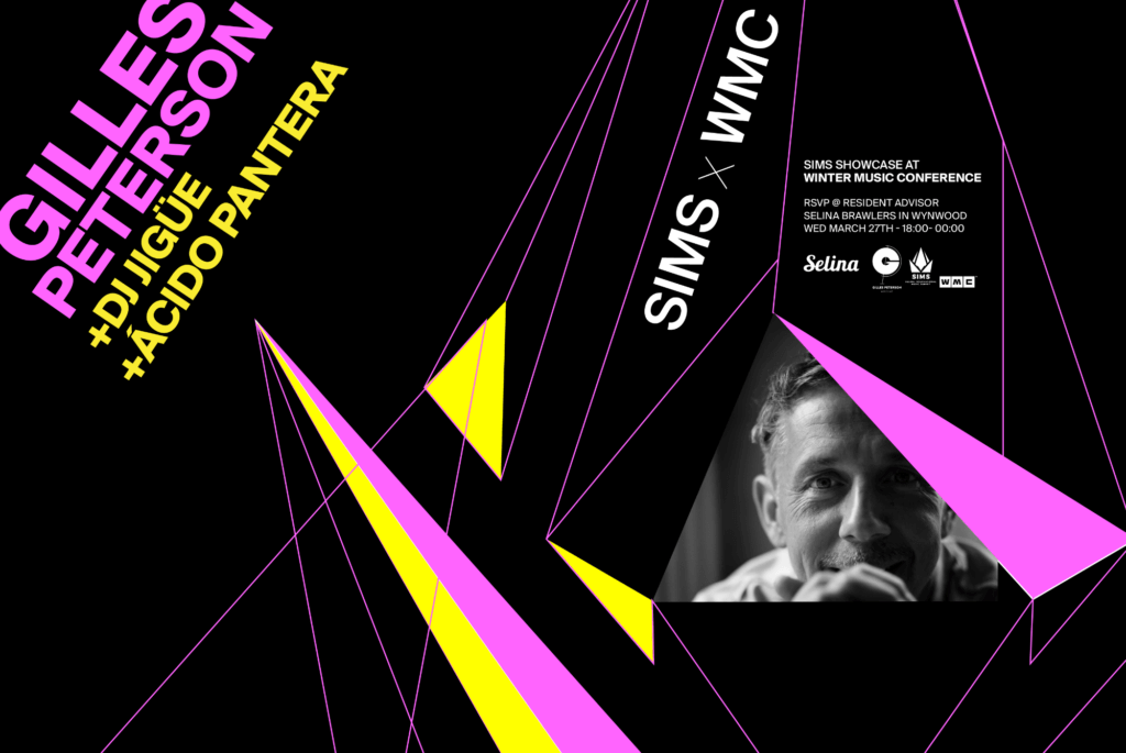 Selina and WMC 2019 Present: Gilles Peterson