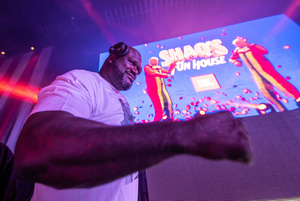 Shaq on Becoming DJ Diesel and Creating the Shaq's Fun House Brand