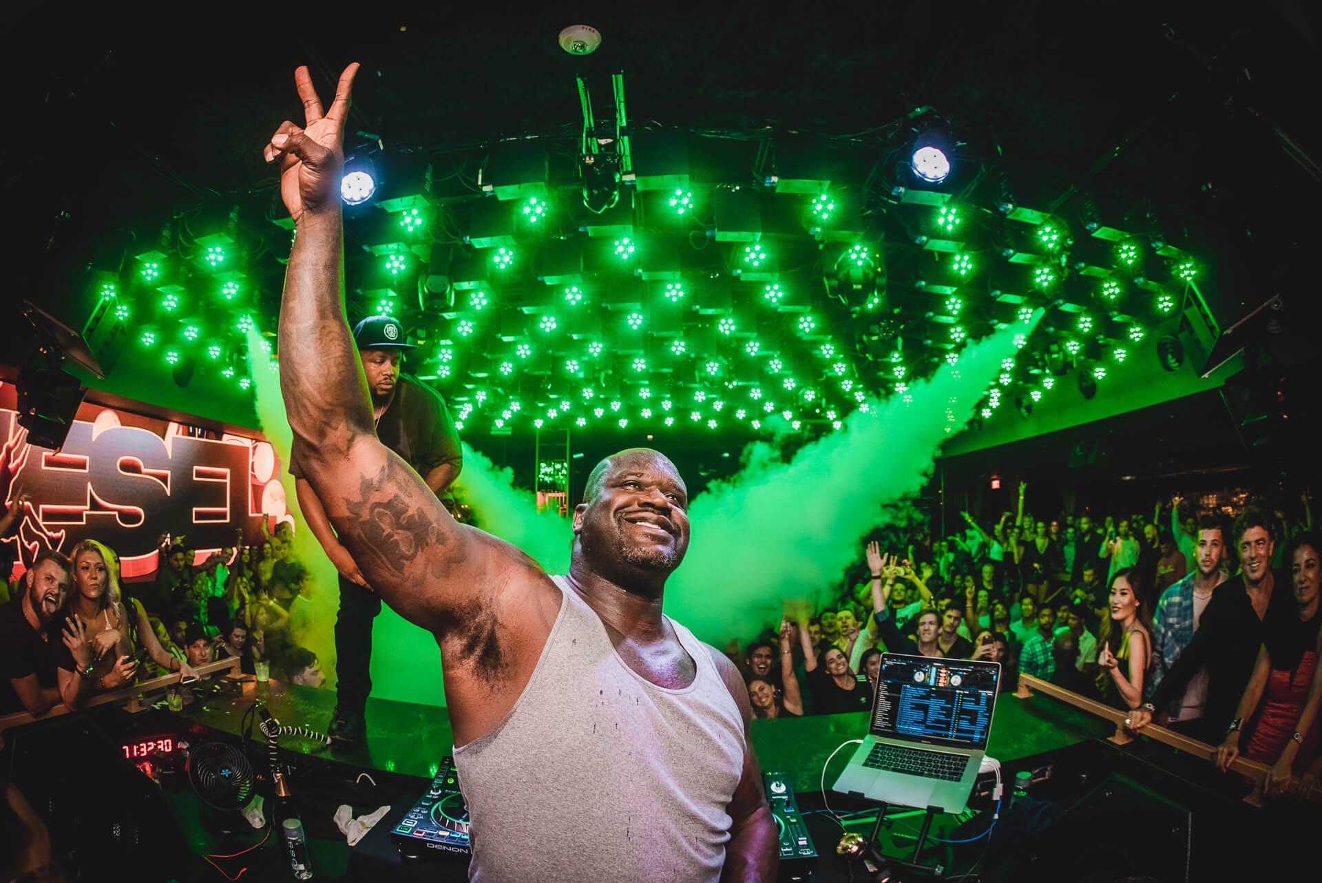 Shaq DJ Diesel