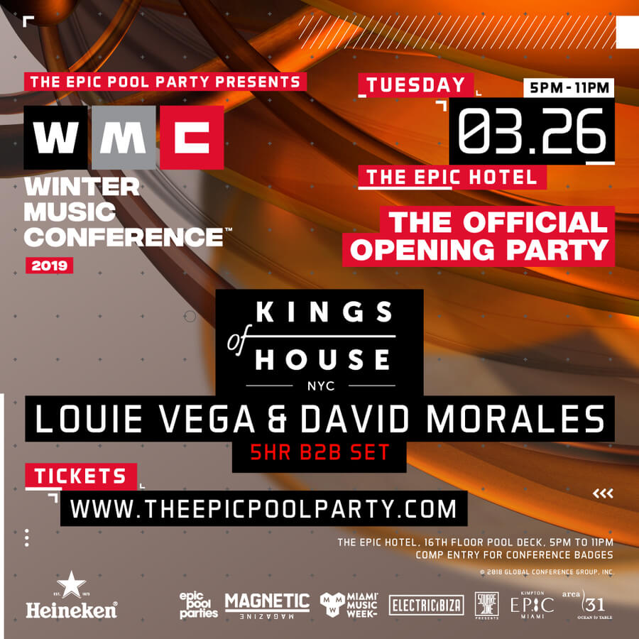 WMC 2019 opening party