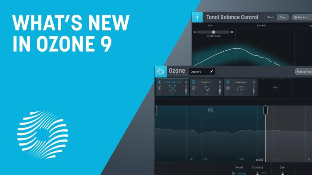 iZotope Releases Ozone 9 Mastering Software