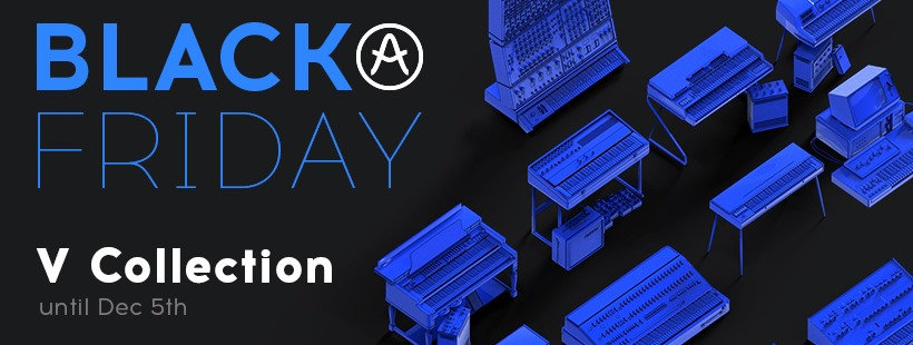 Arturia Launches Black Friday Sale For V Collection 7