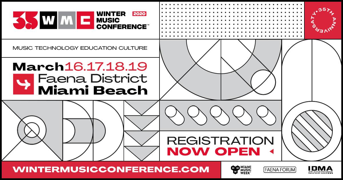 Miami Winter Music Conference 2020 Dates.Winter Music Conference March 2020 Wmc Winter Music