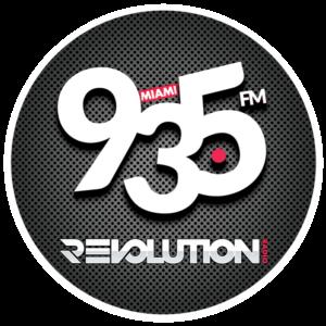 Revolution 93.5 Logo